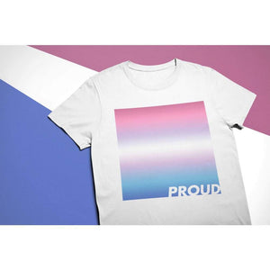Proud Bigender T Shirt | Rainbow & Co