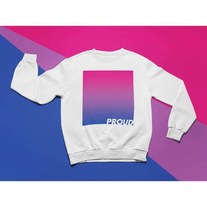 Proud Bisexual Sweatshirt | Rainbow & Co