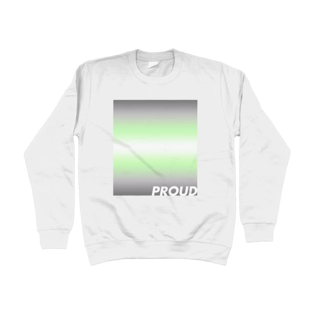Proud Demiandrogyne Sweatshirt | Rainbow & Co
