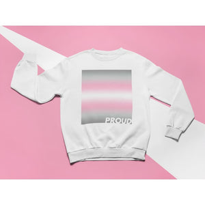 Proud Demigirl Sweatshirt | Rainbow & Co