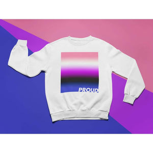 Proud Genderfluid Sweatshirt | Rainbow & Co