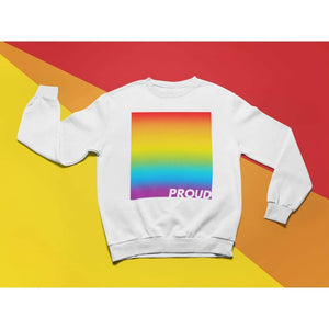 Proud LGBTQ+ Rainbow Sweatshirt | Rainbow & Co