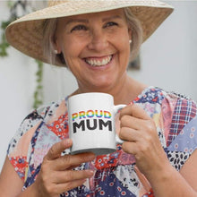 Load image into Gallery viewer, Proud Mum - Rainbow Flag Mug | Rainbow & Co