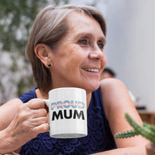 Load image into Gallery viewer, Proud Mum - Transgender Flag Mug | Rainbow & Co