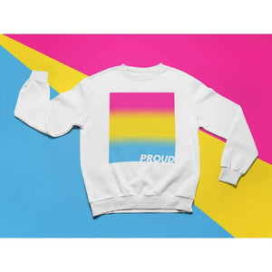 Proud Pansexual Sweatshirt | Rainbow & Co