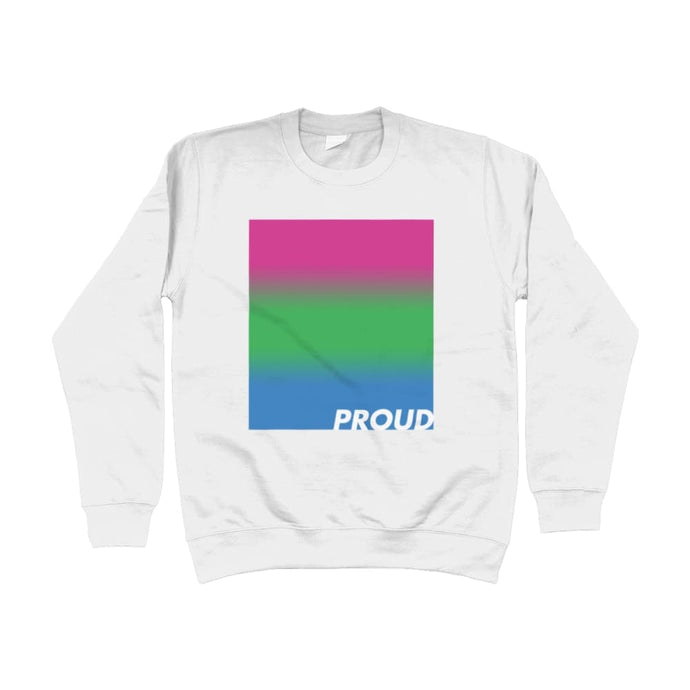 Proud Polysexual Sweatshirt | Rainbow & Co