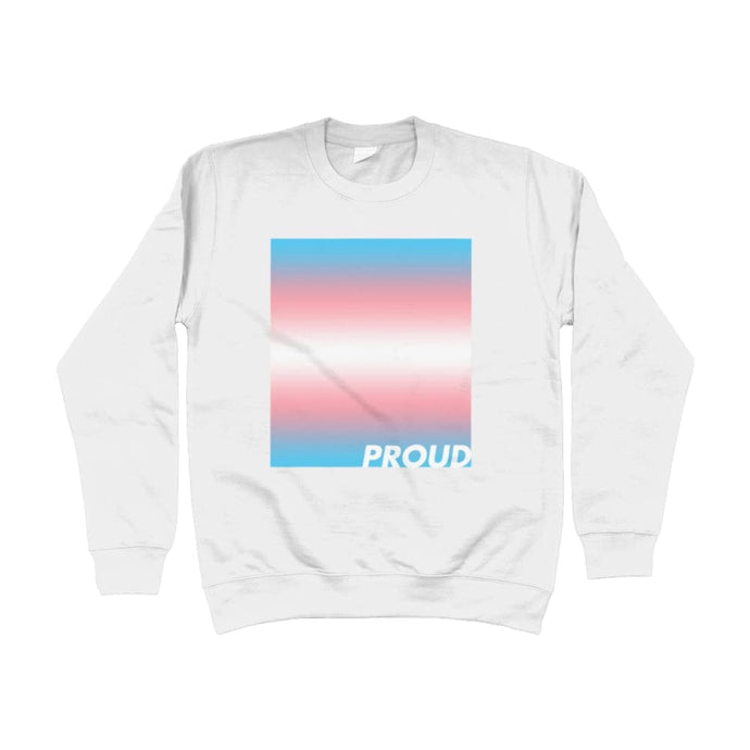 Proud Transgender Sweatshirt | Rainbow & Co