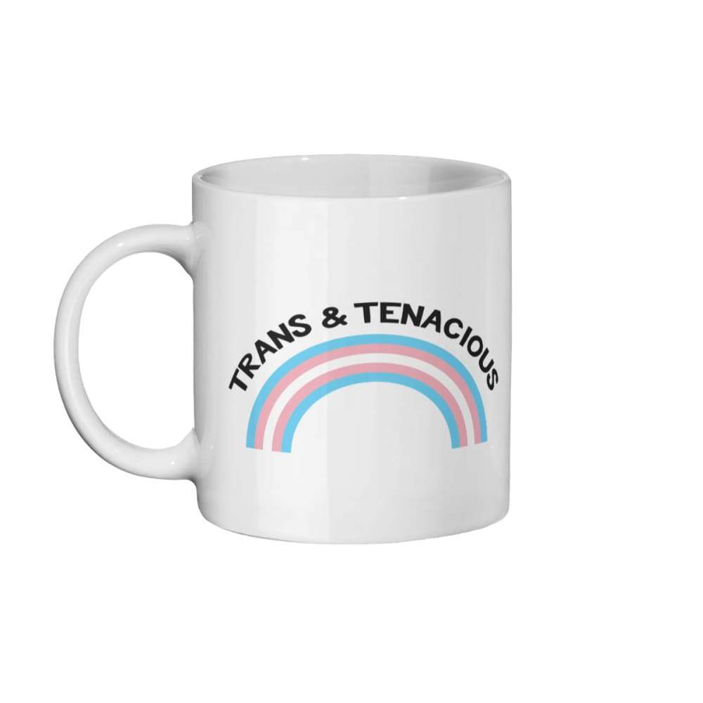 Trans & Tenacious Coffee Mug | Rainbow & Co