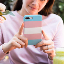 Load image into Gallery viewer, Transgender Phone Case | Rainbow & Co