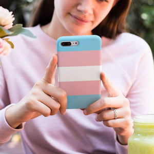 Transgender Phone Case | Rainbow & Co