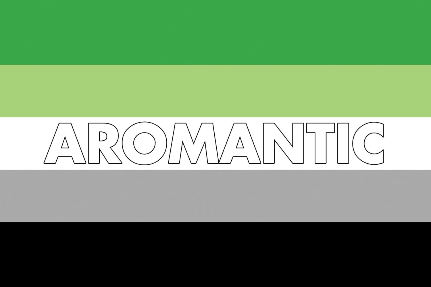Aromantic Definition | Aromantic Pride Flag