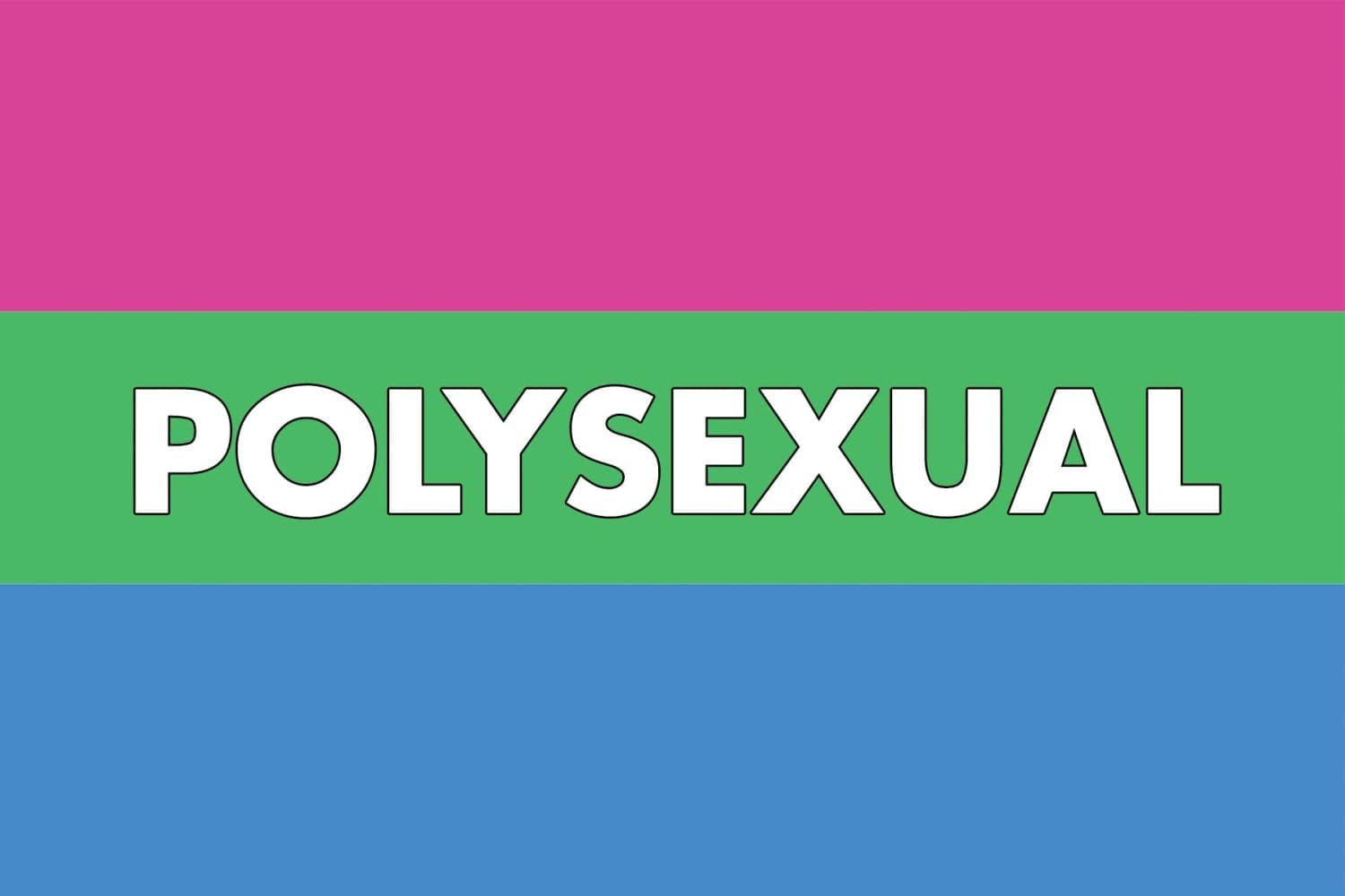 Polysexual Definition | Polysexual Pride Flag