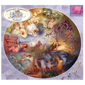 1000 Piece Round Jigsaw - Fairies - Margaret Tarrant's-Yarrawonga Fun and Games