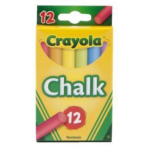 12 Coloured Chalk-Yarrawonga Fun and Games