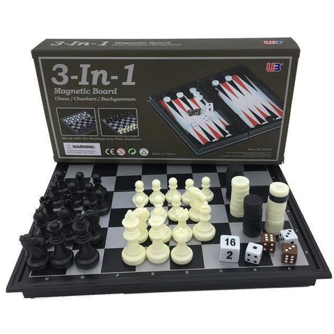 3-In-1 Magnetic Games-Yarrawonga Fun and Games