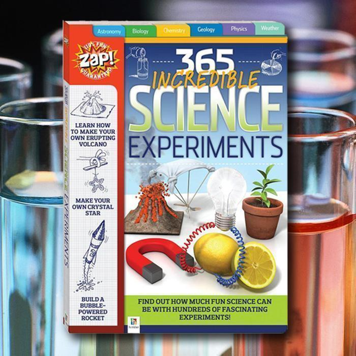 365 Incredible Science Experiments Book-Yarrawonga Fun and Games.