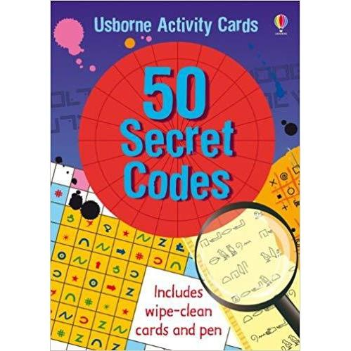 50 Secret Codes-Yarrawonga Fun and Games.