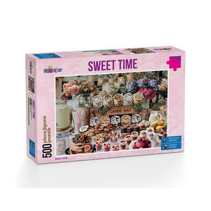 500 Piece Jigsaw - Sweet Time-Yarrawonga Fun and Games