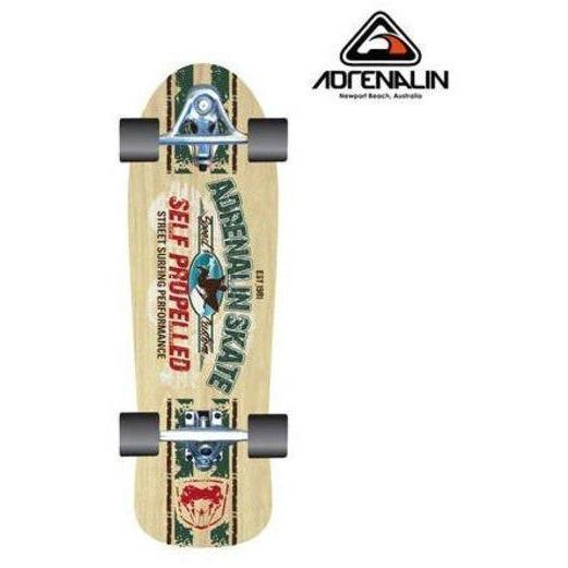 Adrenalin Self Propelled Street Surfer Skateboard-Retro Surf-Yarrawonga Fun and Games