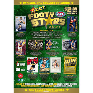 AFL Footy Cards 2021- Select - Single Pack-Yarrawonga Fun and Games