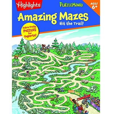 Amazing Mazes Book - Hit the Trail-Yarrawonga Fun and Games.