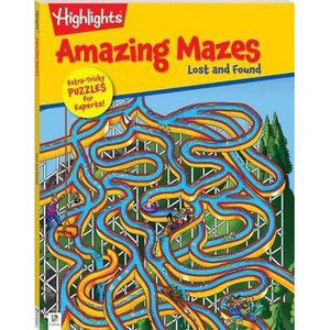 Amazing Mazes Book - Lost and Found-Yarrawonga Fun and Games.