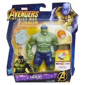 "Avengers 6"" Deluxe Figures-Hulk-Yarrawonga Fun and Games"