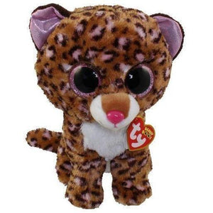 Beanie Boo - Medium - Leopard - Patches-Yarrawonga Fun and Games.