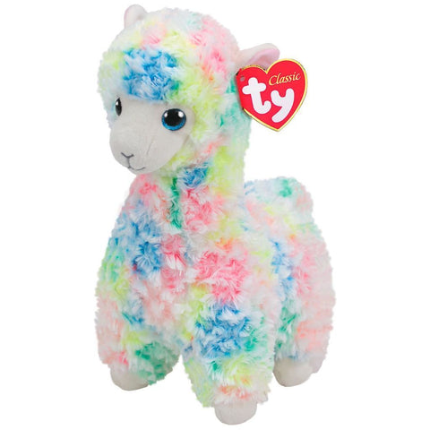 Beanie Boo - Medium - Multicolour Llama - Lola-Yarrawonga Fun and Games