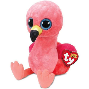 Beanie Boo - Medium - Pink Flamingo - Gilda-Yarrawonga Fun and Games.