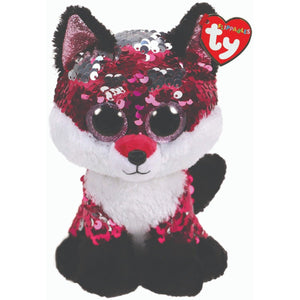 Beanie Boo Sequins - Medium - Jewel Fox