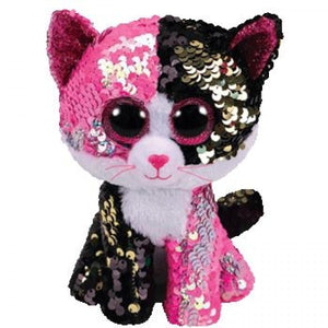 Beanie Boo Sequins - Medium - Malibu Cat