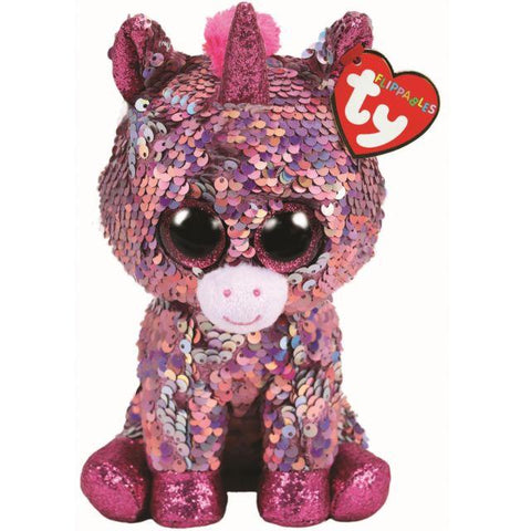 Beanie Boo Sequins - Medium - Sparkle Unicorn
