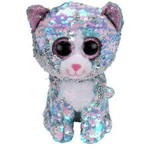 Beanie Boo Sequins - Medium - Whimsy Cat-Yarrawonga Fun and Games