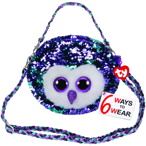 Beanie Boo Sequins - Purse - Moonlight Owl-Yarrawonga Fun and Games