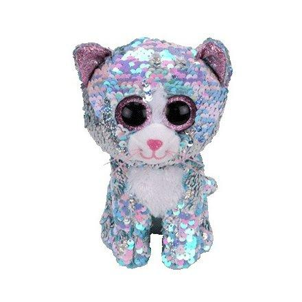 Beanie Boo Sequins - Whimsy Cat-Yarrawonga Fun and Games