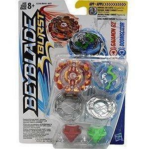 BeyBlade Burst - Dual Packs-Gaianon G2 & Doomscizor-Yarrawonga Fun and Games.