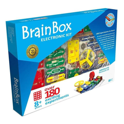 Brain Box Electronics Kit - Over 180 Experiments-Yarrawonga Fun and Games