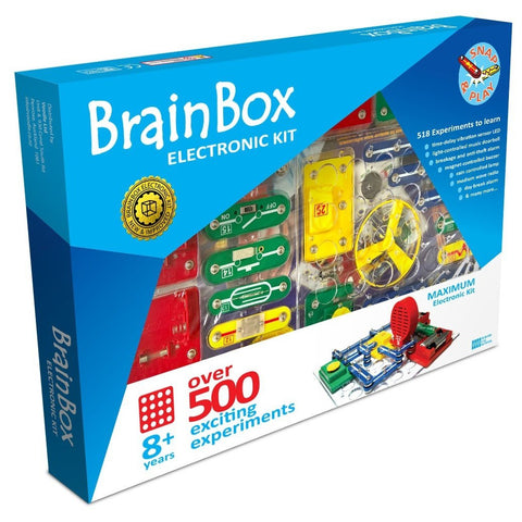 Brain Box Electronics Kit - Over 500 Experiments-Yarrawonga Fun and Games