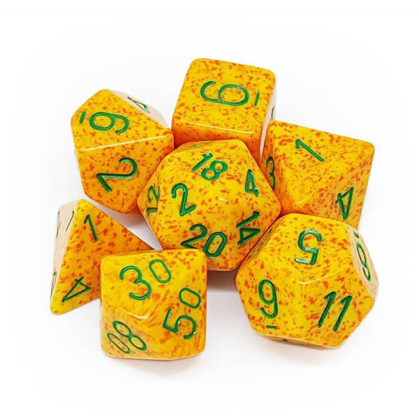 Chessex 7 Dice Sets-Lotus-Yarrawonga Fun and Games