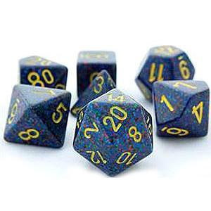 Chessex 7 Dice Sets-Speckled Twilight-Yarrawonga Fun and Games