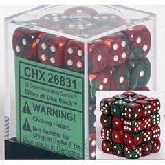 Chessex Block of 36 12mm Dice-Yarrawonga Fun and Games