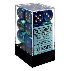 Chessex Gemini 12 * D6 Dice Sets-Yarrawonga Fun and Games