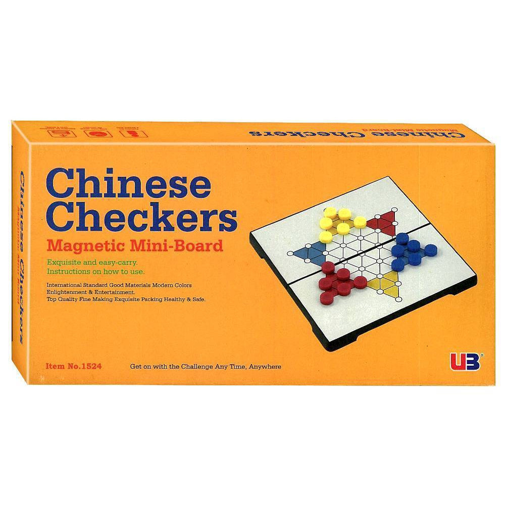 Chinese Checkers - Magnetic Mini Board-Yarrawonga Fun and Games
