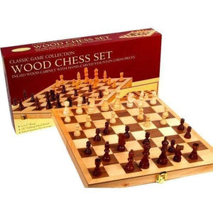 Classic Wood Chess Set-Yarrawonga Fun and Games