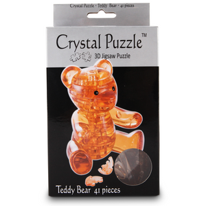 Crystal Puzzle - 3D Jigsaw - Teddy Bear-Yarrawonga Fun and Games