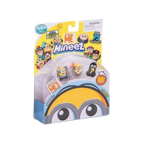 Despicable Me Mineez - Series 1 - 3 Pack-Yarrawonga Fun and Games