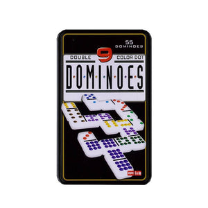 Double 9 Domino Set in Tin-Yarrawonga Fun and Games.