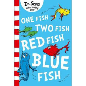 Dr Seuss Book - One Fish Two Fish Red Fish Blue Fish-Yarrawonga Fun and Games
