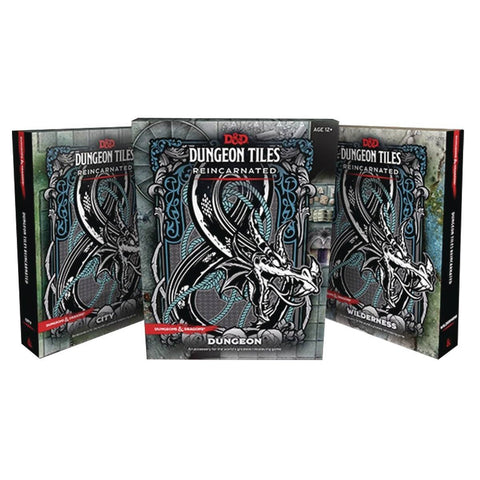 Dungeon Tiles - Dungeons and Dragons-Yarrawonga Fun and Games